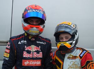 Max & Victoria Verstappen: having fun @ Home of Champions.